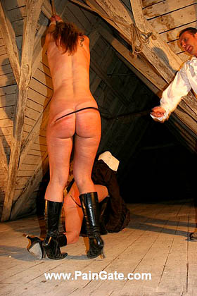 THE WHIPPING MANIACS - 2 girls under the most brutal punishment!