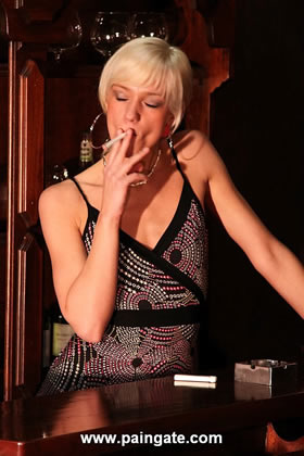 GOTCHA! - SWEET VIRGIN ANIKA PUNISHED HARD FOR CAUGHT SMOKING