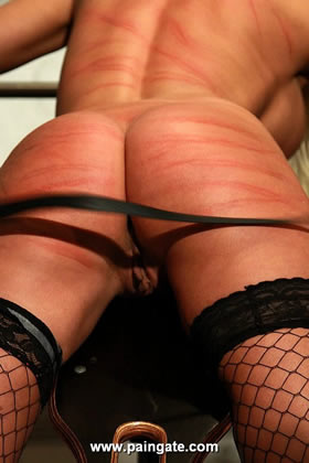 INTERROGATION OF NEW BLONDE TOP MODEL FOXY IN AN OUTSTANDING PAINGATE PRISON PUNISHMENT!