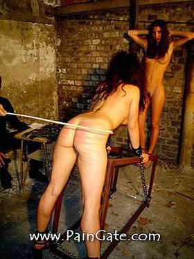 2 YOUNG NAKED FEMALES UNDER EXTREME PAINFUL INTERROGATION!
